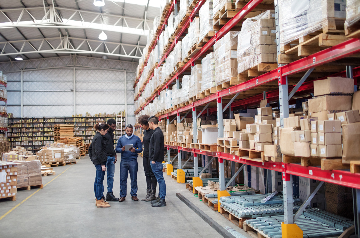 Lagerarbeiter KMU-Strategie