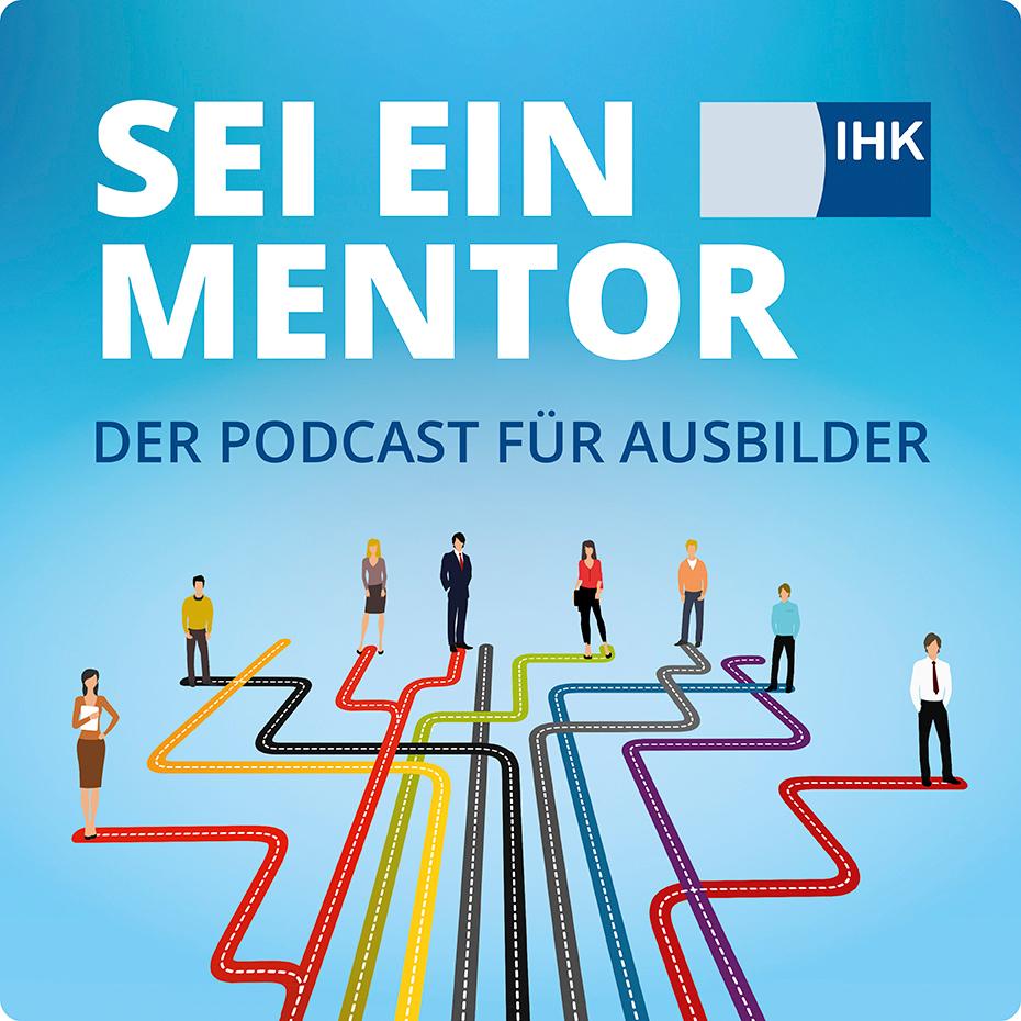 """Logo zum Podcast """"Sei ein Mentor"""""""