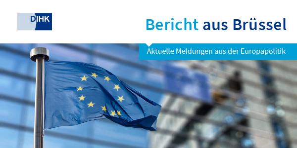 """Header """"Bericht aus Brüssel"""""""