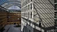 Haus der Deutschen Wirtschaft in Berlin, Blick ins Atrium