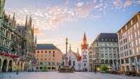 leere Innenstadt in München