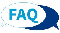 Sprechblasen mit FAQs