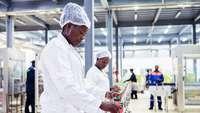 Fabrik in Afrika