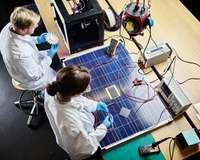 Produktion Solarpanele