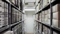 Blick in ein Archiv