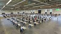 IHK-Abschlussprüfung im Messe- und Congresszentrum Halle Münsterland