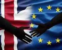 Brexit Handschlag