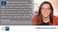 Ausbildungs-Statement von Katrin Lüttke, IHK Neubrandenburg