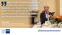 Ausbildungs-Statement von Birte Nagel, IHK Neubrandenburg