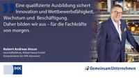 Ausbildungs-Statement von Robert Andreas Hesse, IHK Hannover