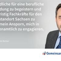 Ausbildungs-Statement von Andreas Richter, IHK Chemnitz