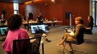 Video-Panel beim Unternehmenstag Erfolgsfaktor Familie am 11. Juni 2021
