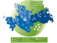 Karte H2-Projekte Norddeutschland
