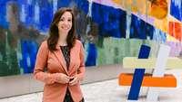 Anne Courbois, Referatsleiterin Koordination Integration von Flüchtlingen